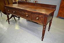 Antique George IV Mahogany sideboard, fitted with
