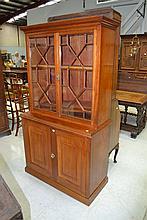 Antique 19th century mahogany bookcase