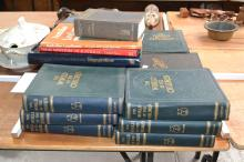 Collection of old books to include over 115 years of News, etc