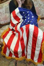 American banner, approx 100cm H x 130cm L
