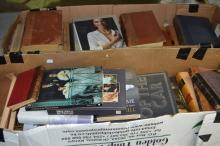 Two boxes of assorted books (2)