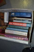 Art reference books to include Art in Australia, Picasso, etc