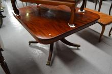 Fine Antique English Regency mahogany snap top breakfast table, Provenance: Ex Connor Galleries, Moss Vale  approx 73cm H x 120cm L x 106cm W
