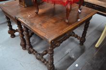 Antique French desk, 76cm H x 106cm L x 73cm W