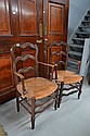 Pair of antique Louis XV armchairs (2)