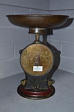 Antique Salter's scales, approx 32cm H
