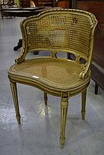 Antique French Louis XVI style chair with pale