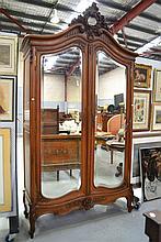 Impressive antique French Louis XV two door