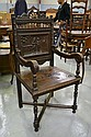Antique French Brittany armchair