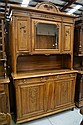 Antique French Louis XVI walnut buffet