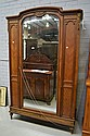 French Parquetry three door Armoire