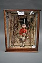 Victorian diorama of Scottish soldier, circa