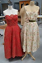 Two vintage cocktail dresses (2)