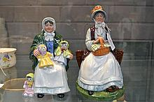 Two Royal Doulton figures