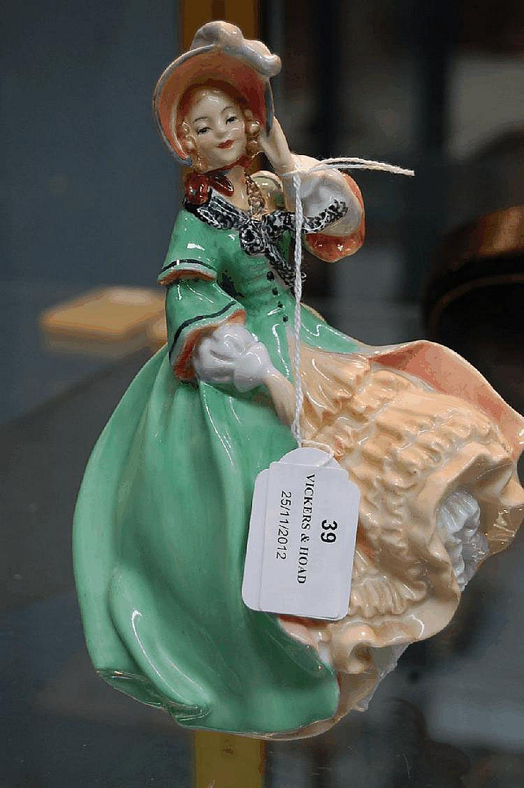 Royal Doulton figure Spring Morning HN1923. 18.5cm