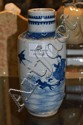 Chinese Kangxi blue & white vase