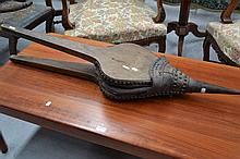 Large Antique French bellows, with original