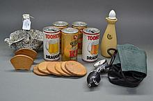 Assortment of goods to include a kewpie doll,