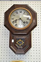 Japanese drop dial wall clock, no key and no