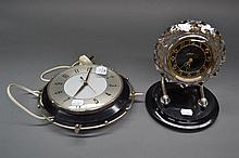 Two modern analogue clocks (2)