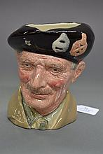 Royal Doulton Monty character jug D6202, approx