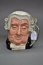 Royal Doulton The Lawyer D6498 jug, approx 18cm H