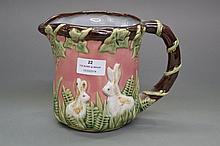 Nouveau Majolica Wan Jiang 1991-1996 rabbit
