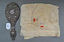 WWI silk and a hand mirror (2)