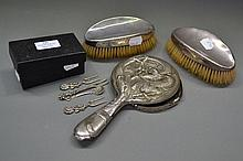 Dutch Silver forks and spoon [The Rose of