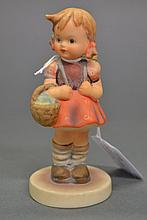 Hummel figure of a school girl, approx 11.5cm