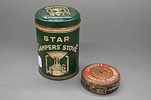 Vintage star camper's stove, made in Japan and