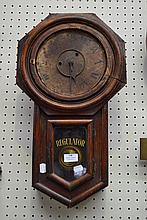 English regulator wall clock (No Key or pendulum)