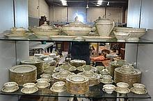 Extensive French Limoges service