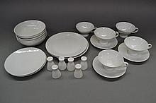 Part Rosenthal and Arzberg dinner service