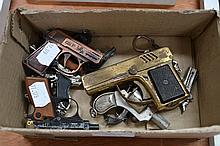 Collection of vintage miniature gun style