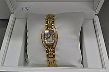 Christian Bernard Paris watch yellow gold tone