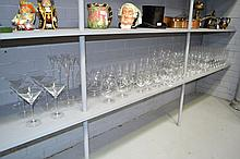 Extensive suite of Riedel glassware, to include