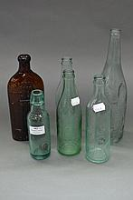 Collection of antique bottles (6)