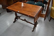 Fine antique Victorian Rosewood sofa table, 96 x