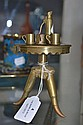 Rare French trench art miniature coffee table with