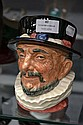 Royal Doulton Beefeater character jug, 17 cm high.