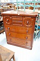 Antique Australian 19th century Cedar seven drawer