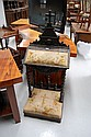 Unusual antique French prayer chair