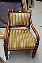 Antique Australian cedar arm chair