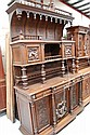 Fine antique French Gothic two height buffet,