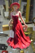 Royal Doulton Easter Parade figure HN4628, approx 23cm H