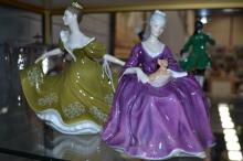 Royal Doulton, two figures to include ''Charlotte HN2421