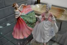 Royal Doulton, two figures to include