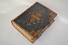 Antique leather bound bible