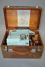 Cased camera Auto-dial, case approx 23cm H x 34cm W x 23cm D
